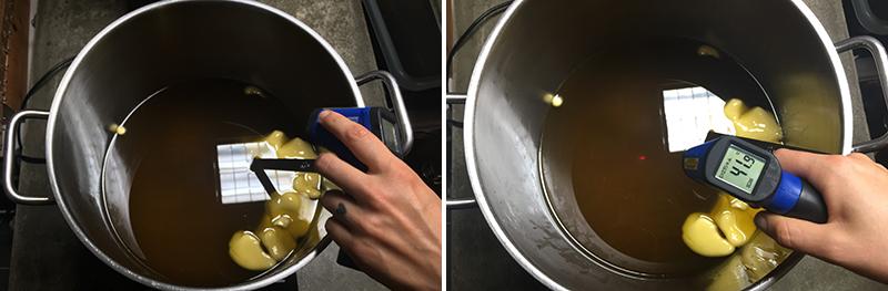 Calendula zeep maken - Werfzeep