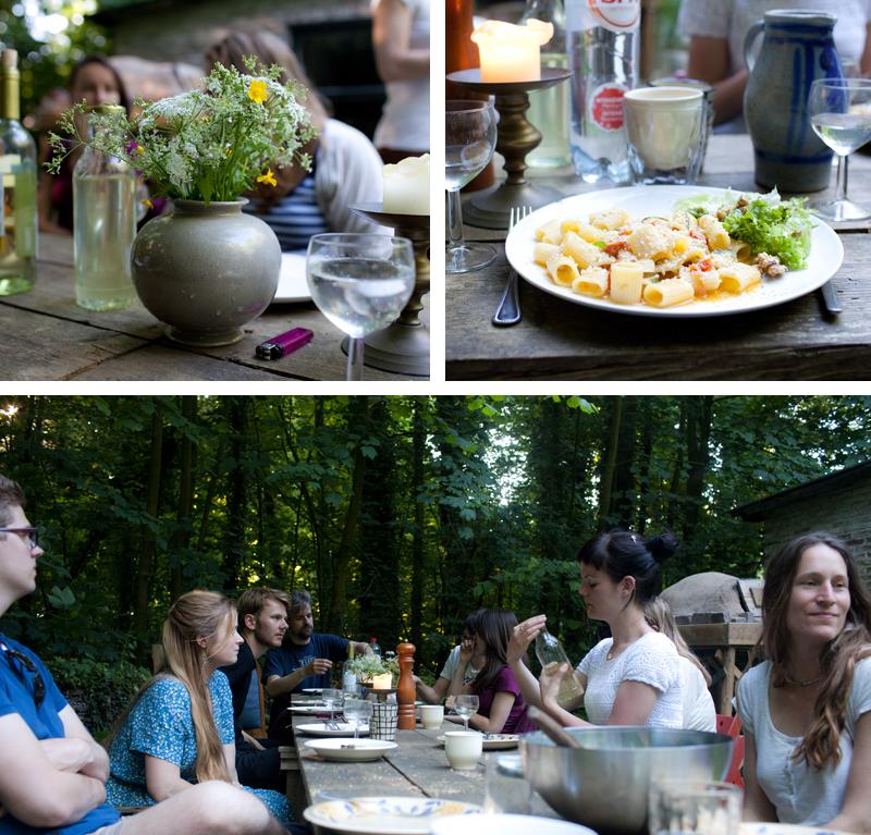 Jasmijn plukken in Wickenburghse bos, maar eerst dineren - Werfzeep