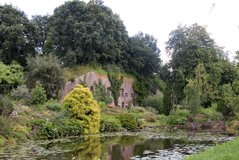 Fort Hoofddijk, Botanische Tuinen Utrecht - Werfzeep