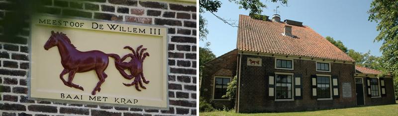 Meestoof De Willem III in Zeeland - Werfzeep