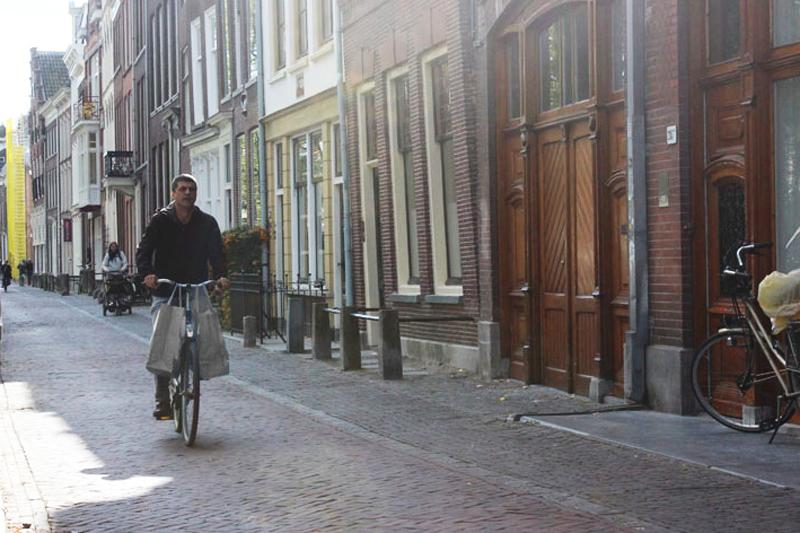 Oudegracht in Utrecht - Werfzeep