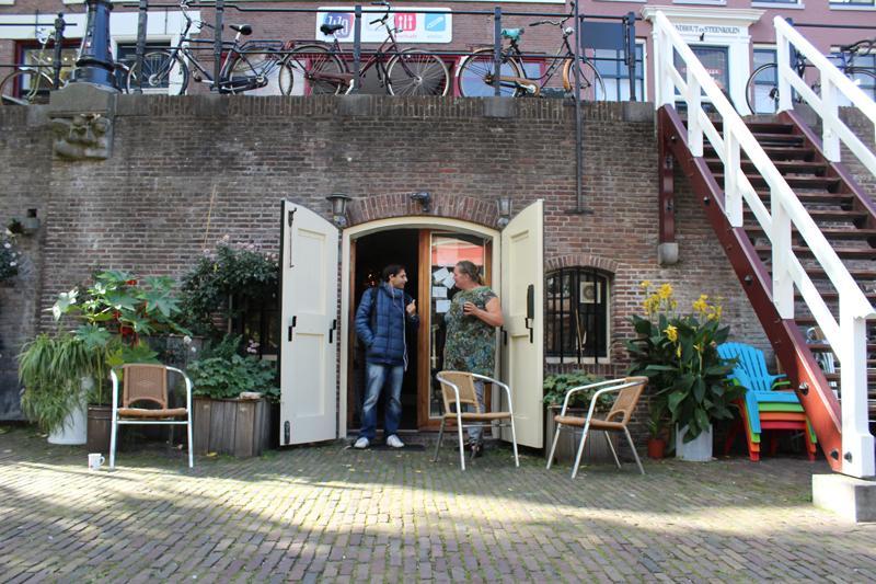 Jolanda van Wij aan de Werf in Utrecht - Werfzeep