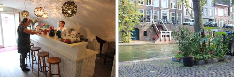 Wij aan de Werf aan de Oudegracht in Utrecht