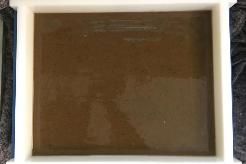 Zelf zeep maken - koffiescrub - Werfzeep