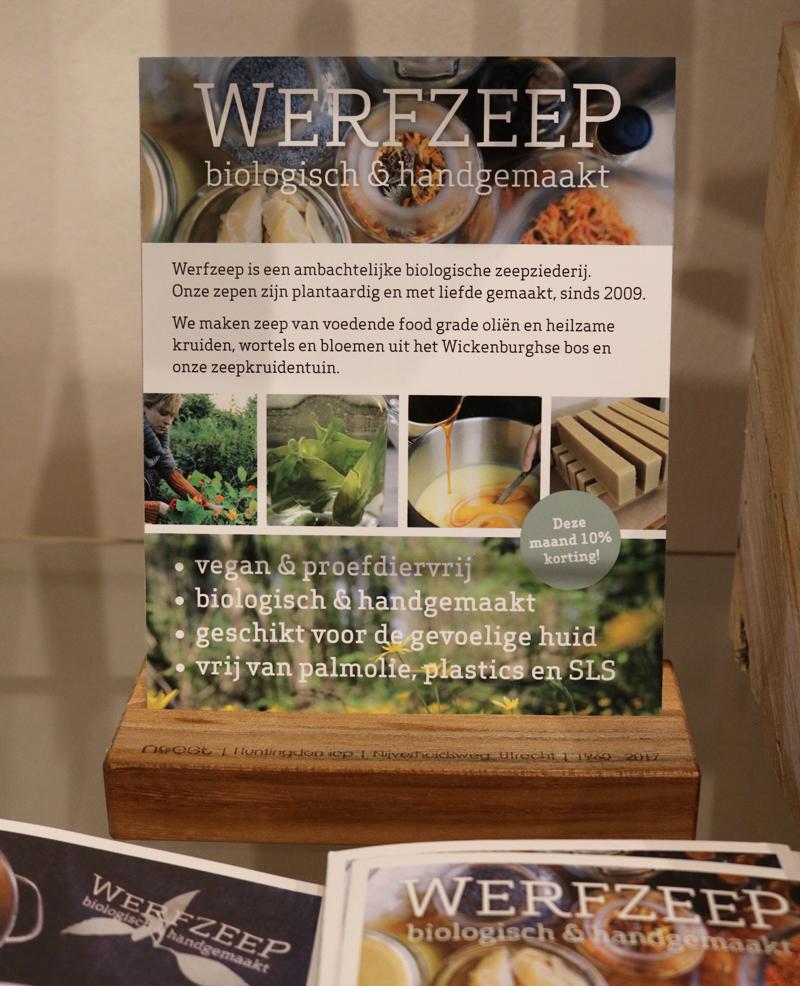 VEGA-LIFE, vegan winkel Amsterdam - Werfzeep