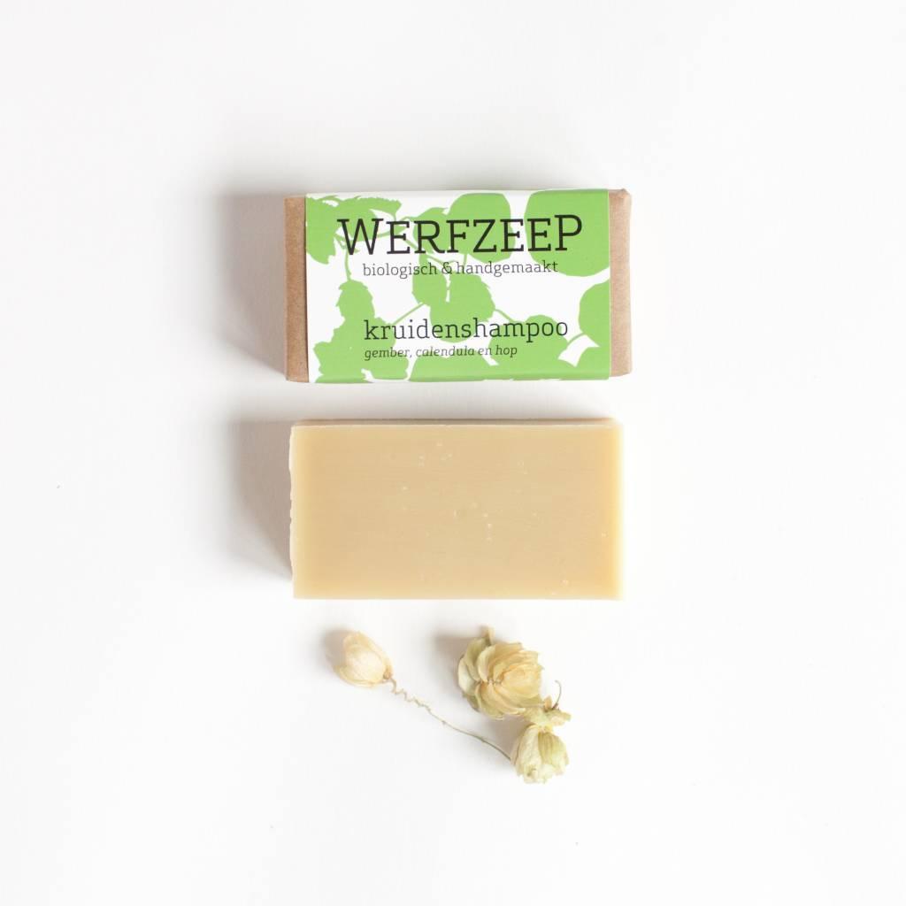 kruidenshampoo, biologische haarzeep van Werfzeep!