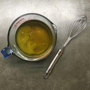 Biologische etherische olie mix voor in de kruidenshampoo: Werfzeep haarzeep