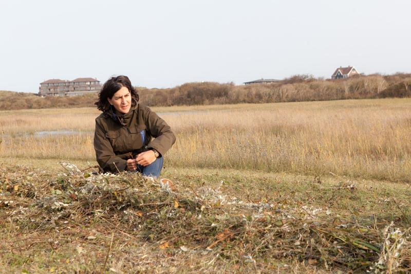 boswachter Cynthia Schiermonnikoog duinvallei - Werfzeep