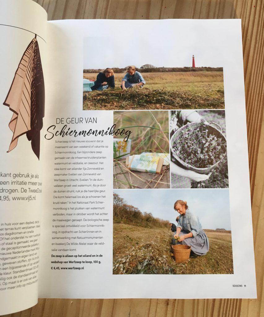 Schierzeep in Seasons, Ilja Zonneveld en Evelien van Zonneveld
