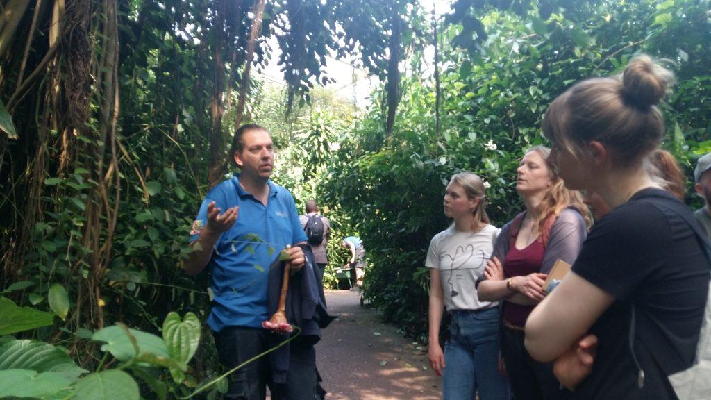 team Werfzeep op bezoek bij Bert-Jan in de Bush van Burger's Zoo!