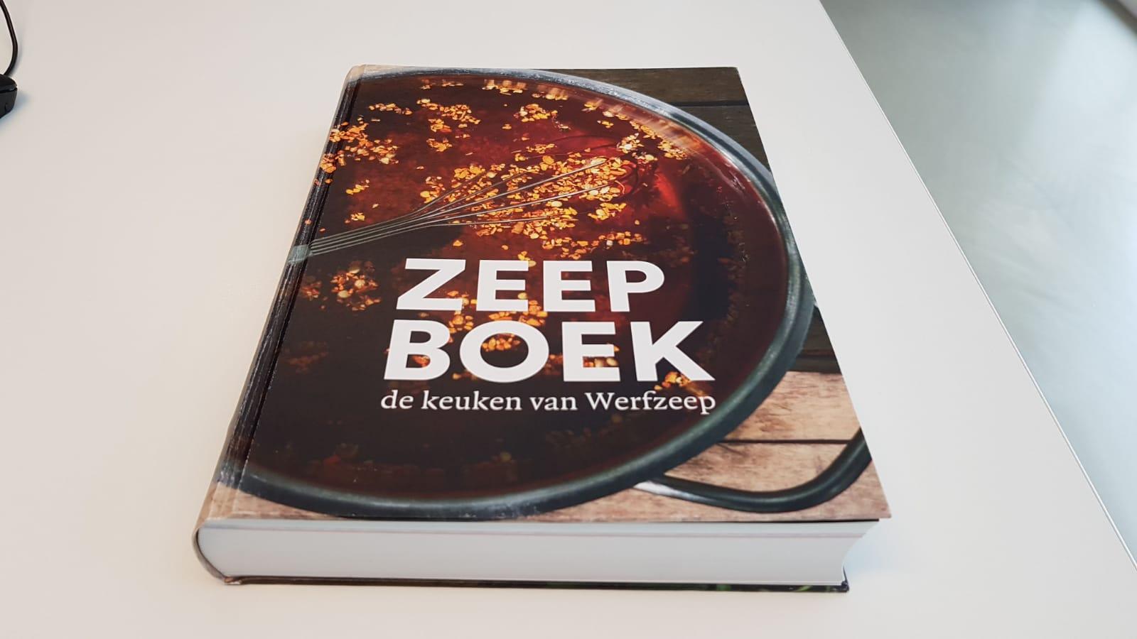 Zeepboek de keuken van Werfzeep