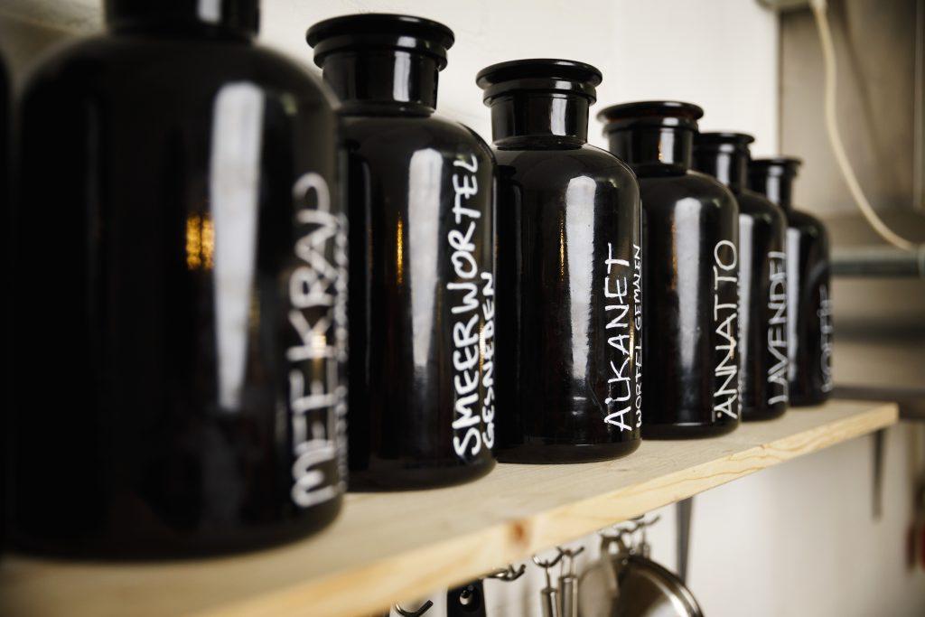 Werfzeep natuurlijke grondstoffen voor de ondersteuning van geïrriteerde huid