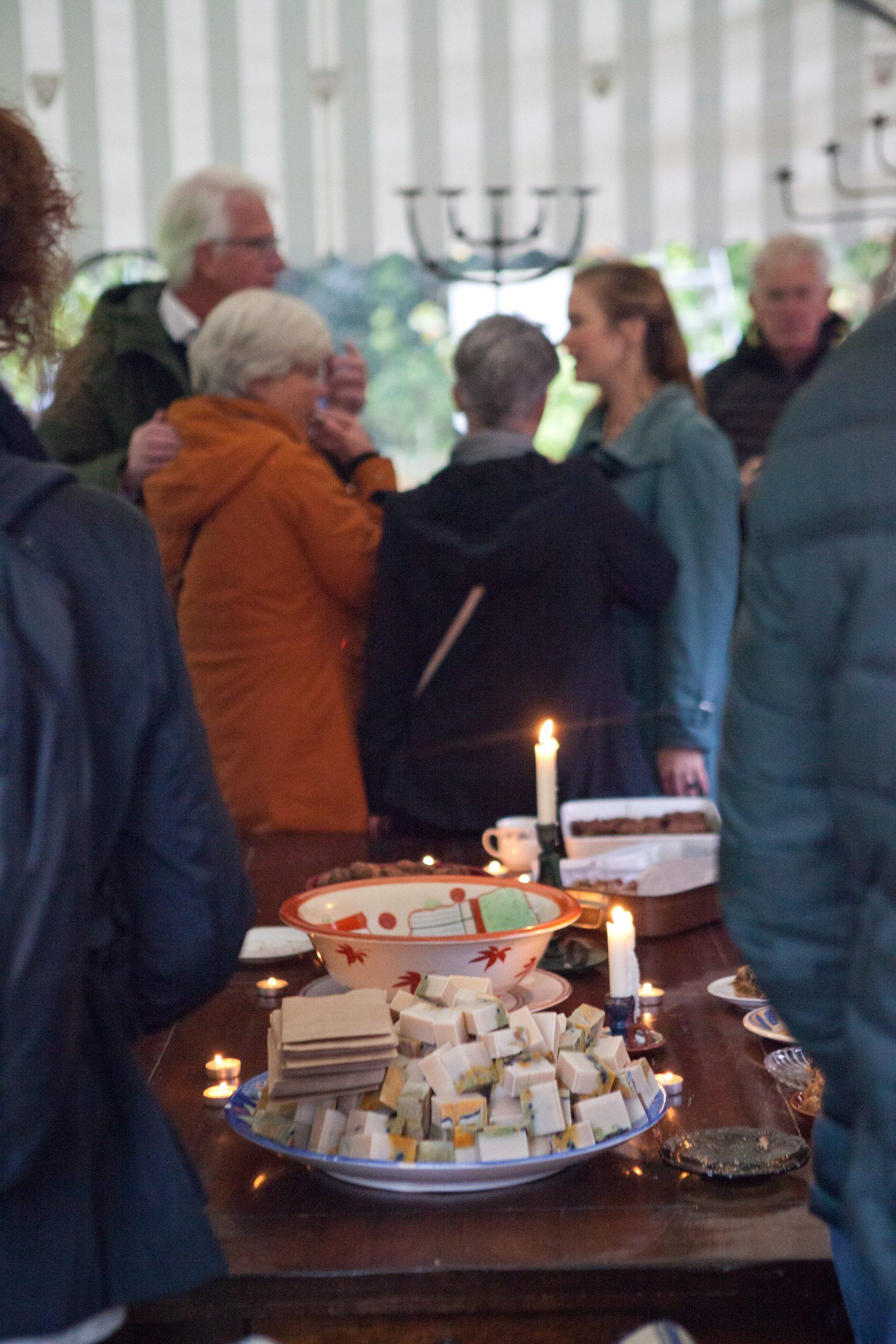 Landgoed Wickenburgh - Zeepboek presentatie in het bos