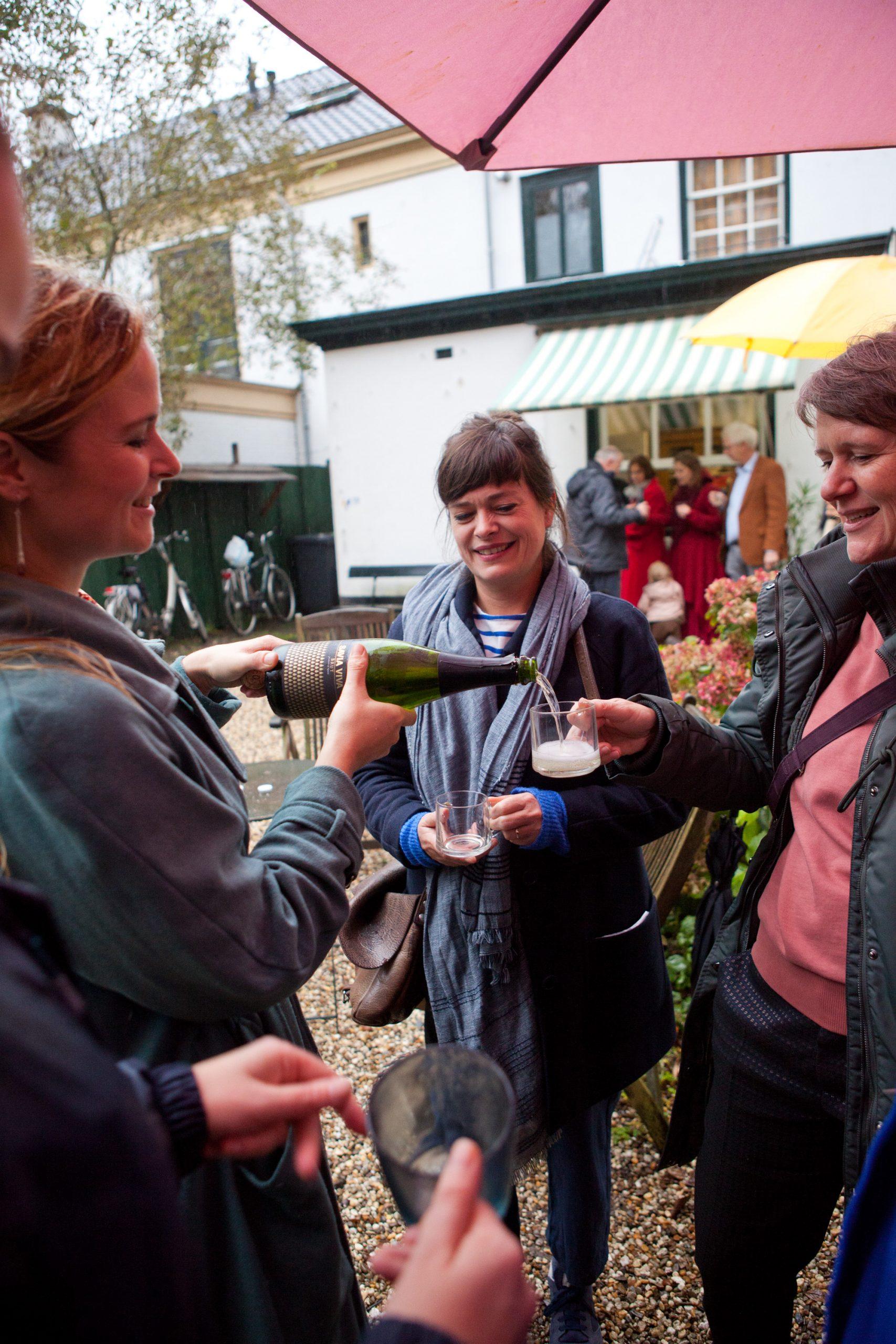 Werfzeep Zeepboek - boekpresentatie in het bos: feest!