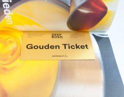 Gouden ticket - Win een jaar lang zeep met het gouden ticket in het Zeepboek! / Werfzeep