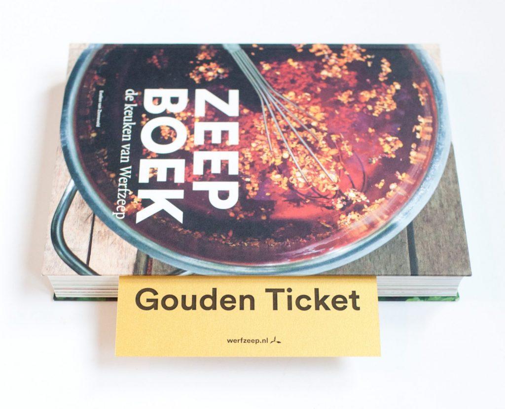 Zeepboek gouden ticket - Win een jaar lang zeep met het gouden ticket in het Zeepboek! / Werfzeep