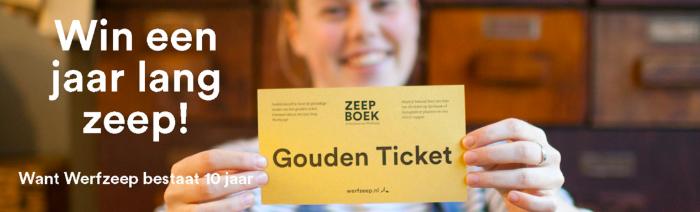 Gouden ticket Werfzeep