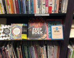 het zeepboek bij Broese Utrecht!