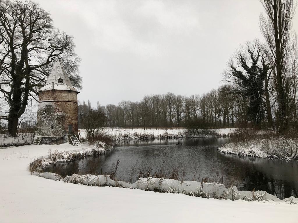 duiventoren van Landgoed Wickenburgh