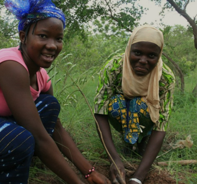 Savannezeep - Werfzeep - vrouwen van de Sahel