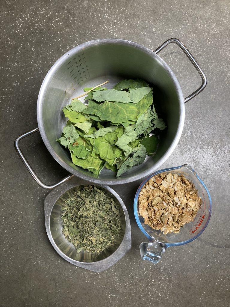 Werfzeep extract kruidenshampoo hop oost-indische kers brandnetel